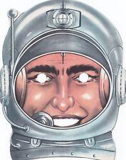 Maschera di CARNEVALE  (   X  )  anni '60  -  ASTRONAUTA