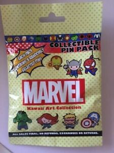 Marvel Kawaii Art Collection Mystery Pouch Pin 109951