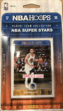 2017 2018 Hoops NBA ALL STARS Factory Sealed 10 Card Set Lebron Curry plus 17 18