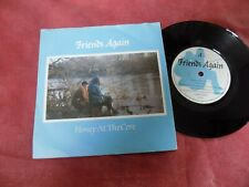 "FRIENDS AGAIN Honey at the core 7"" original 1980's INDIE"