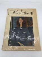 Vtg 1953 Modigliani Art Book with 16 Color Prints Abrams Art Original Copywrite