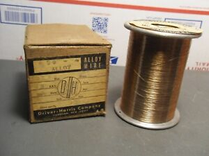 VINTAGE DRIVER-HARRIS CO. #90 ALLOY WIRE