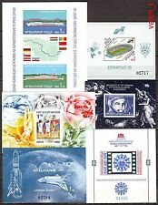 1988-2 Bulgaria Year set incl.all nonlisted minisheets + imperforated S/S Mnh *