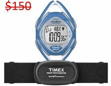 Timex Ironman Women Race Trainer Elite Heart Rate Calories Monitor Running Watch