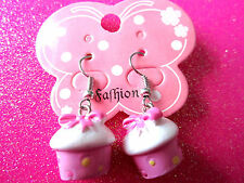 Cup Cake Dangle Earrings