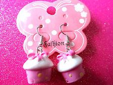 Cup Cake Dangle Earrings