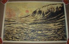 SHEPARD FAIREY poster DARK WAVE obey giant offset art print signed
