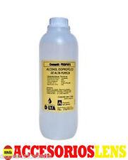 1 Litro de  Alcohol ISOPROPILICO,propan-2-ol, IPA Puro 99.9%