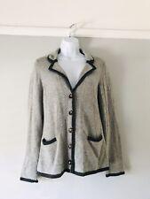 size 8 grey cargidan woolen boden blazer style winter 8% Cashmere Button Down