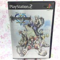 USED PS2 PlayStation 2 Kingdom Hearts Final Mix 28153 JAPAN IMPORT