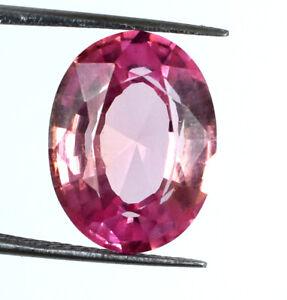 Oval Padparadscha Orange Sapphire 100% Natural 12.60 Ct Gemstone Certified G1141