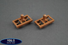 4 x Türdichtung Befestigungs Clips für BMW X5 E53 - 51337052945 - NEU