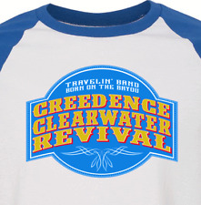 Creedence Clearwater Revival new blue T SHIRT John Fogerty  all sizes s m lg xl