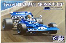 Ebbro 20007 Tyrrell 003 1971 Monaco GP 1/20 Scale Plastic Model