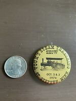 Vintage 1976 Stephen Minnesota Vouk's Lapel Pin Pinback Classic Advertising