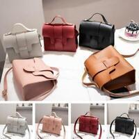 Women Lady Shoulder Bag PU Leather Envelope Crossbody Messenger Handbag Purse