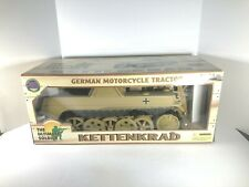 21st Century Toys The Ultimate Soldier Kettenkrad German Motorcycle Tractor NIOB