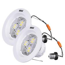 Sansi Led Dimmable Down Light Recessed Ceiling Lamps Retrofit 1800lm 2-Pack 15W
