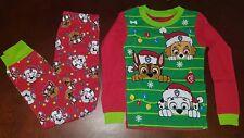 Paw Patrol Toddler Boy Long Sleeve Shirt & Pants Christmas Pajamas New 5T
