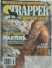 Trapper & Predator Caller February 2017 How to Auction Your Fur FREE SHIPPING sb