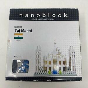 Nanoblock Taj Mahal 420 Pieces Micro Building Blocks Brand New NBH 008
