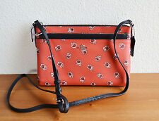COACH F56680 CROSSBODY WITH POUCH SIENNA ROSE PRINT COATED CANVAS WATERMELON
