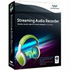 Wondershare Streaming Audio Recorder  WIN lifetime dt. Vollversion ESD Download