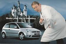 NEW Postcard of a silver FORD FIESTA *last one *
