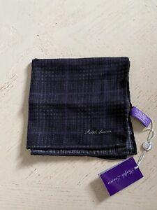 New $165 Ralph Lauren Purple Label Pocket Black/Purple Italy