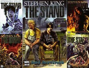 The STAND: SOUL SURVIVORS (5) comic SET #1 Signed Perkins 2 3 4 5 Stephen King