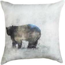 "FRIENDLY BEAR CLIMAWEAVE Indoor/Outdoor Pillow, 18"" x 18"", by Manual"
