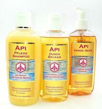 Set Api Royal/  Pflege-Shampoo-Dusch-Balsam-Honig-Seife