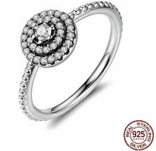 Unbranded Cubic Zirconia Stackable Fashion Rings