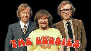 The Goodies English Comedy BBC Decal Vinyl Bumper Sticker or Fridge Magnet