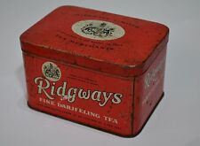 Ridgways vintage metal tea box London England