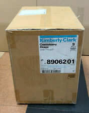 Kimberly Clark Box Of 9 Level 4 Craniotomy Drape With Pouch 122 X134 In Ref 89062