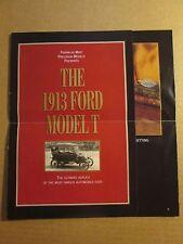 Franklin Mint Brochure 1913 Ford Model T