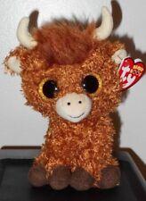131cbb6a987 Ty Beanie Babies Boos 36659 Angus The Scottish Highland Cow Boo