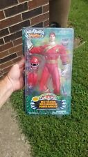 Power Rangers Wild Force Red Talkin Wild Warrior Figure New In Box