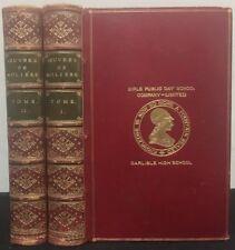 Oeuvres de Molière avec des notes de tous les commentateurs 2 Voll.1890