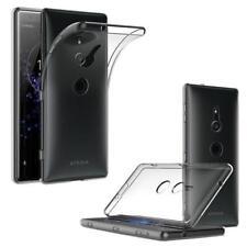 Per Sony Xperia XA1 XA2 XZ3 XZ2 Premium L1 TRASPARENTE IN SILICONE TRASPARENTE GEL Custodia