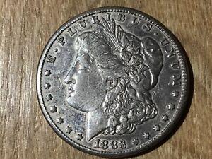 1 Morgan Dollar 1883/1883 O/1883 S/1883 Cc