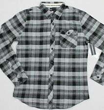 O'NEILL Men's Classic Fit Plaid Flannel LS Button-Front Pocket Shirt (S) NWT $50