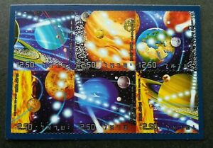 [SJ] Israel Solar System 2006 Astronomy Space Earth Planet (ms) MNH
