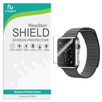 [6-PACK] RinoGear for Apple Watch Screen Protector 42mm (Series 3/2/1) [Activ...