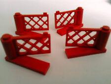 LEGO 4 X RED SWING GATES 1X4X2
