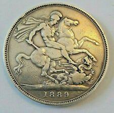 1889 QUEEN VICTORIA JUBILEE CROWN KM# 765, Sp# 3921 couronne