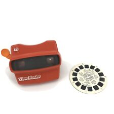 Viewmaster Red Viewer + Winnie The Pooh & Tigger Too Reel