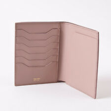 NWT TOM FORD Light Pink Smooth Leather Passport Holder Travel Wallet