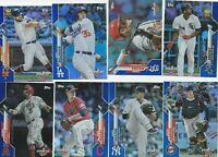 2020 TOPPS OPENING DAY BLUE FOIL OPENING DAY EDITION  U-PICK COMPLETE YOUR SET